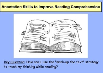 Annotating Skills to Improve Reading Comprehension