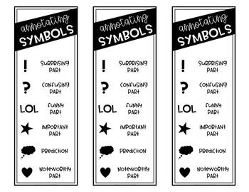Annotating Symbols Bookmarks