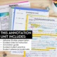 Annotating Text (nonfiction): step-by-step text annotation & close reading