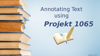 Annotating Text Powerpoint
