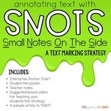Annotating Text Using SNOTS
