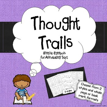 "Annotating Text with Symbols: ""Thought Trails"""