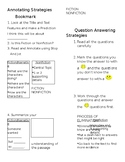 Annotating and Question Strategies