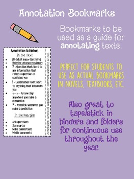 Annotation Bookmarks NEW