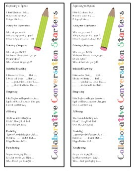 Annotation Bookmarks with Collaborative Conversation Starters
