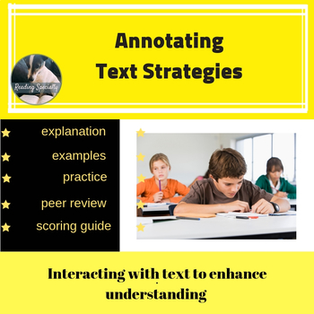 Annotation Comprehension Strategy