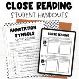 Close Reading/Annotation Grading Rubric