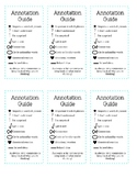 Annotation Guide Bookmarks