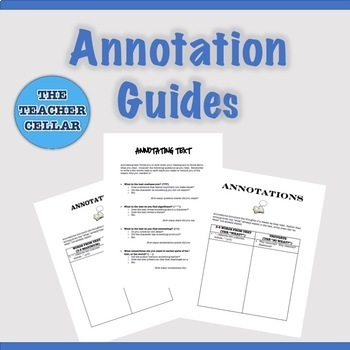 Annotation Guide Handout