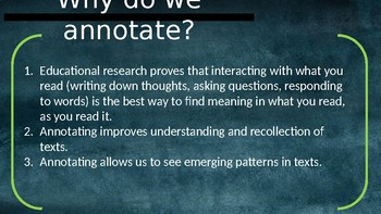 Annotation Guide PowerPoint