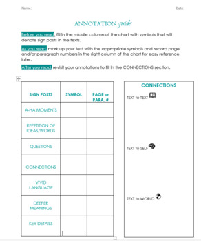 Annotation Guide for ANY Text