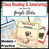 Annotation Guide for Any Text w/ Google Slides Presentatio