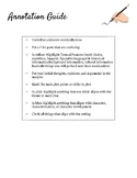 Annotation Guide for Literary Analysis