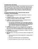 Annotation Guide for Texts (color-coding)