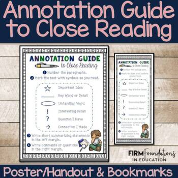 Annotation Guide to Close Reading