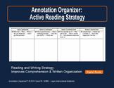 Annotation Organizer: Promotes Close & Active Reading