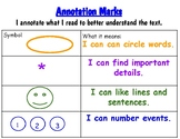 Annotation Poster for Benchmark First Grade