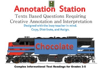 Annotation Station: Chocolate