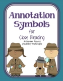 Annotation Symbols for Close Reading - Basic
