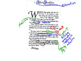 Literary Annotations Unit