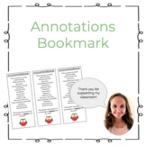 Annotations Bookmark