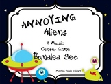 Annoying Aliens: A Bundled Center Rhythm Game for Kodaly and Orff Classrooms