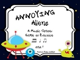 Annoying Aliens: A Center Game to Practice Tika-Tika, Ta, Ti-Ti, and Rest