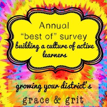 "Annual ""Best Of"" School Wide Survey"