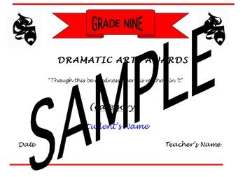 Annual Dramatic Arts Awards