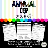 Annual IEP Review Packet