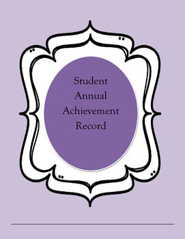 Annual Student Achievement Record