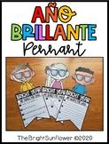 Año Brillante Pennant | Bright Year Back to School Pennant