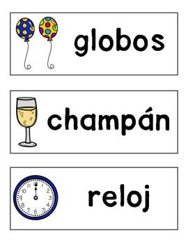 Año Nuevo 2018 (New Year's SPANISH)