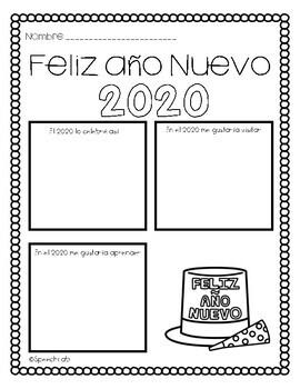 Año Nuevo 2020 Freebie