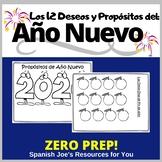 Año Nuevo 2021: Las Doce Uvas y Los Propósitos: Spanish Ne