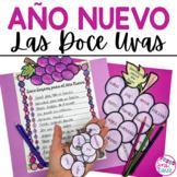 Año Nuevo Las Doce Uvas 12 Grapes Activity for Spanish New