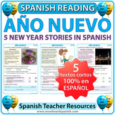 Año Nuevo - Lecturas - 5 New Year Stories in Spanish