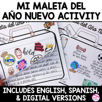Año Nuevo - Mi Maleta Writing Activity