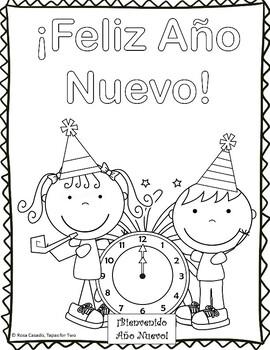 Año Nuevo New Year's Spanish