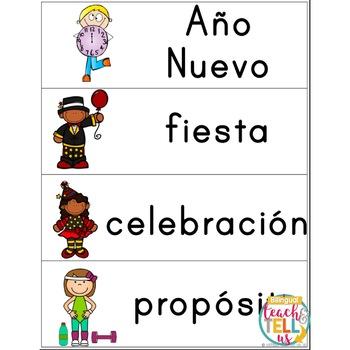 Año Nuevo New Years Spanish