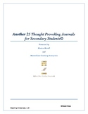 Another 25 Thought Provoking Journal Questions/Topics for