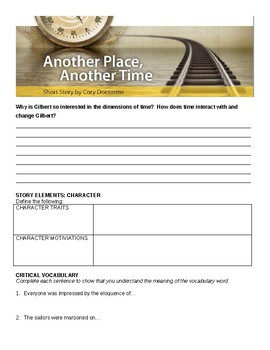 Another Place Another Time Comprehensive Study Guide