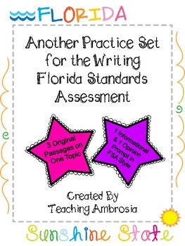 Another Practice Set for the Writing FSA Florida Standards Assessment Test Prep