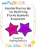 Another Practice Set for the Writing FSA Florida Standards
