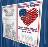 Another Veterans Day Program (Template)