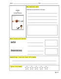 Another by Christian Robinson - Read Aloud Journal Activities