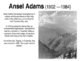 Ansel Adams PPT, 5-12
