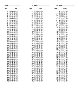 Answer Document