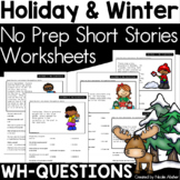 Answer It! Winter & Christmas Wh-Questions