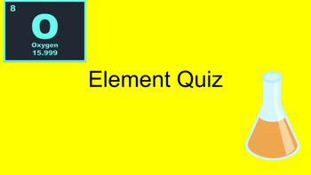 Answer Key - Element Assessment